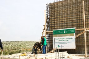 BINAA started rehabilitating sewage network in 4 villages in Idlib governate