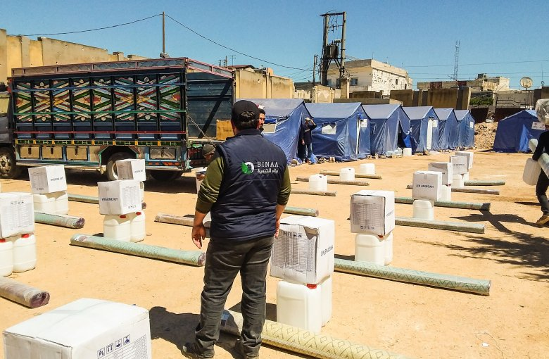 In an effort to alleviate the financial burden, BINAA provide heating and cleanliness kits to 3 villages in northern Idlib
